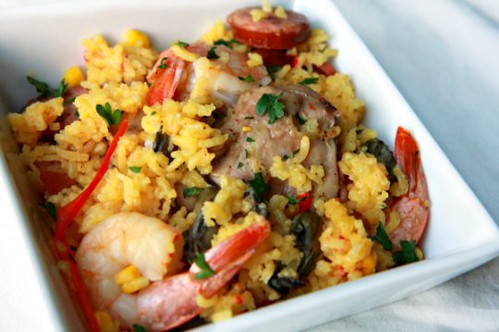 Paella Header | by The Noshery