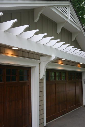 Trellis over garage latest exterior noted how to design a for Fypon pvc trellis system