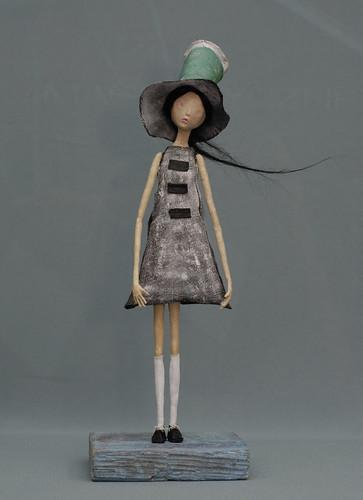 windy2 papier mache doll made by me p konski flickr. Black Bedroom Furniture Sets. Home Design Ideas