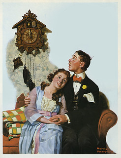 Courting-Couple-at-Midnight--Post-cover--1919-by-Norman-Rockwell | by x-ray delta one