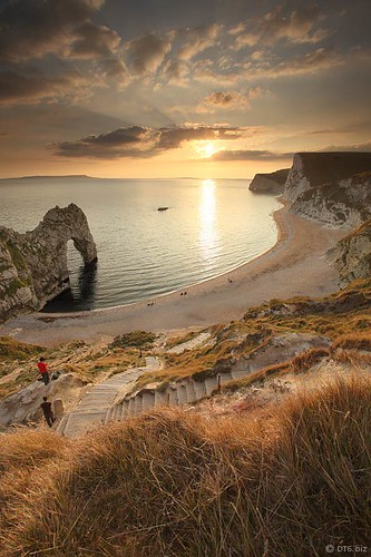Dorset:  Autumn Sunset, Durdle Door. | by Mike-DT6