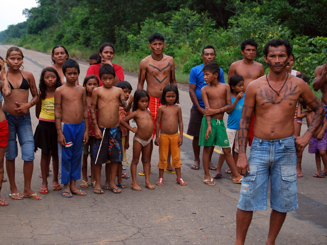 Apurin 227 People The Apurin 227 Indians Live Only 2km Away