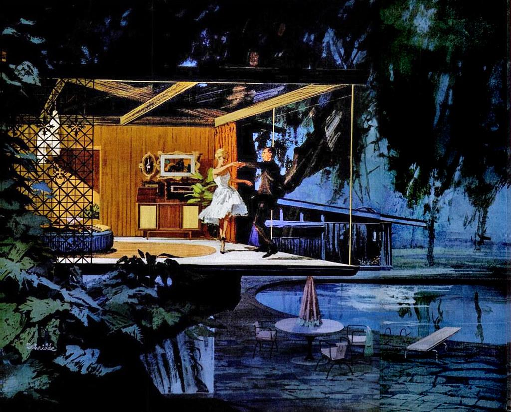 1961 motorola tree dance artist charles schridde flickr for Disco house artists