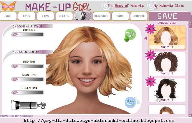 Games For Girls Online  Gry Dla Dziewczyn  Make Up Girl -2970