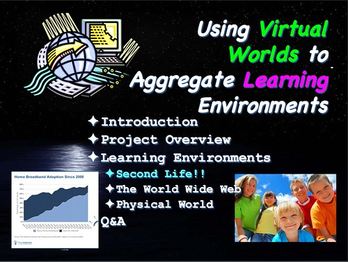 ugly powerpoint slide intro to my keynote on virtual world