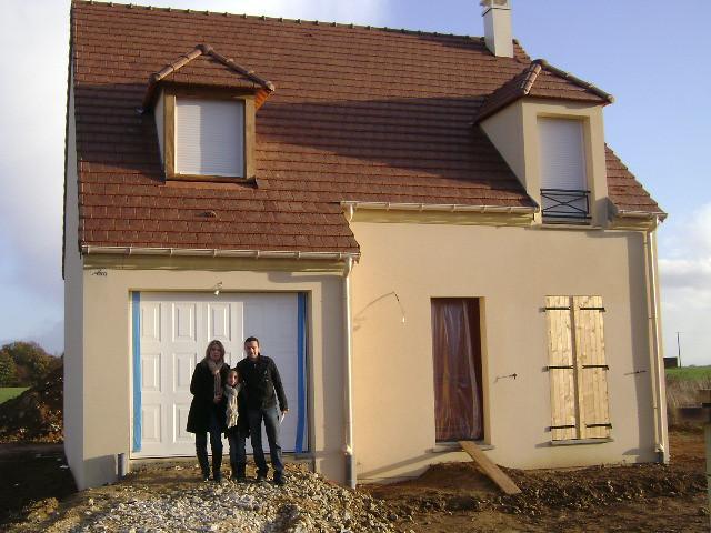 Une maison mod le sagesse livr e par maisons pierre ouest for Maison pierre modele orleans