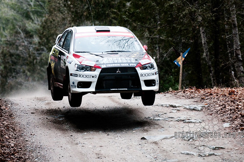 (Antoine L'Estage & Nat Richard Jump) - Rally of the Tall Pines 2009 - 15 | by Gravity Bureau
