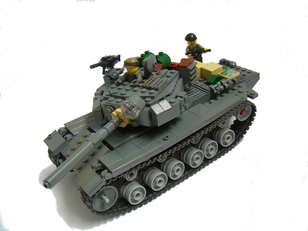 Raac centurion a royal australian armored corps - Avion de chasse en lego ...