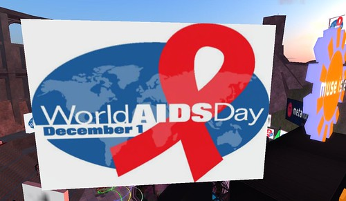 Worlds Aids Day 09 in SL | by Daniel Voyager