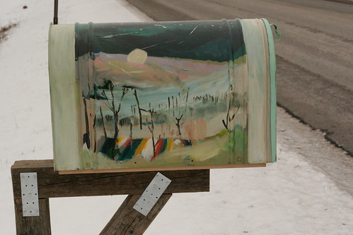 Dacha Project Mailbox =The Winter Side | by Lea LSF