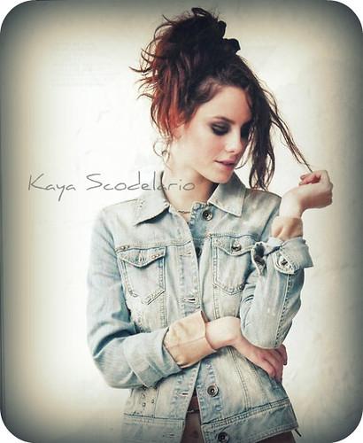 """Kaya Scodelario """"Effy"""" Skins  - Magazine cover"""