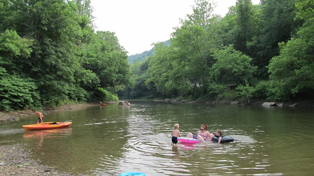 Swirl Hole, Fish Creek, WV. | Swirl Hole is approximately