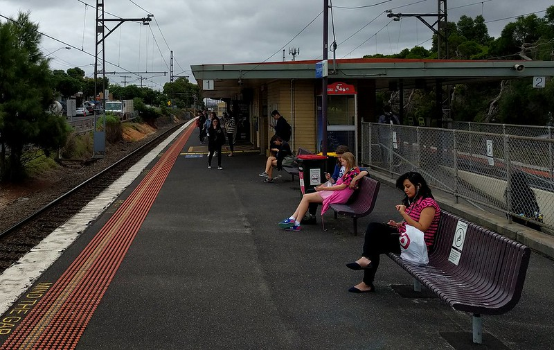 Huntingdale station