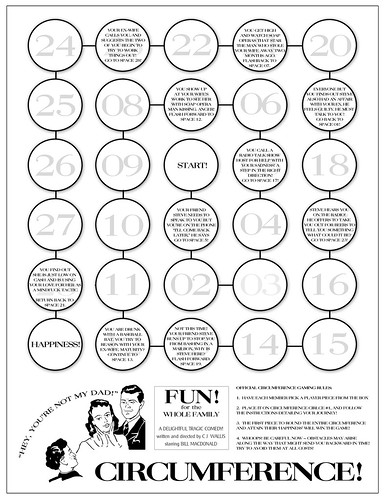 graphic design: circumference handout | by fortyfps