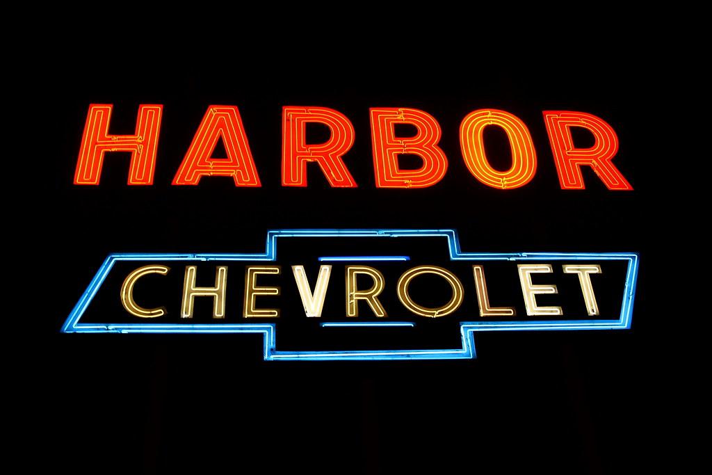 harbor chevrolet cherry ave long beach california marc evans flickr. Black Bedroom Furniture Sets. Home Design Ideas