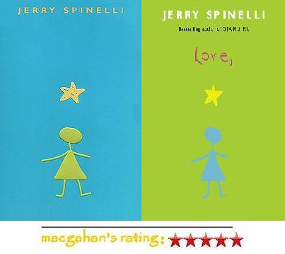 What is similar with all Jerry Spinelli books?