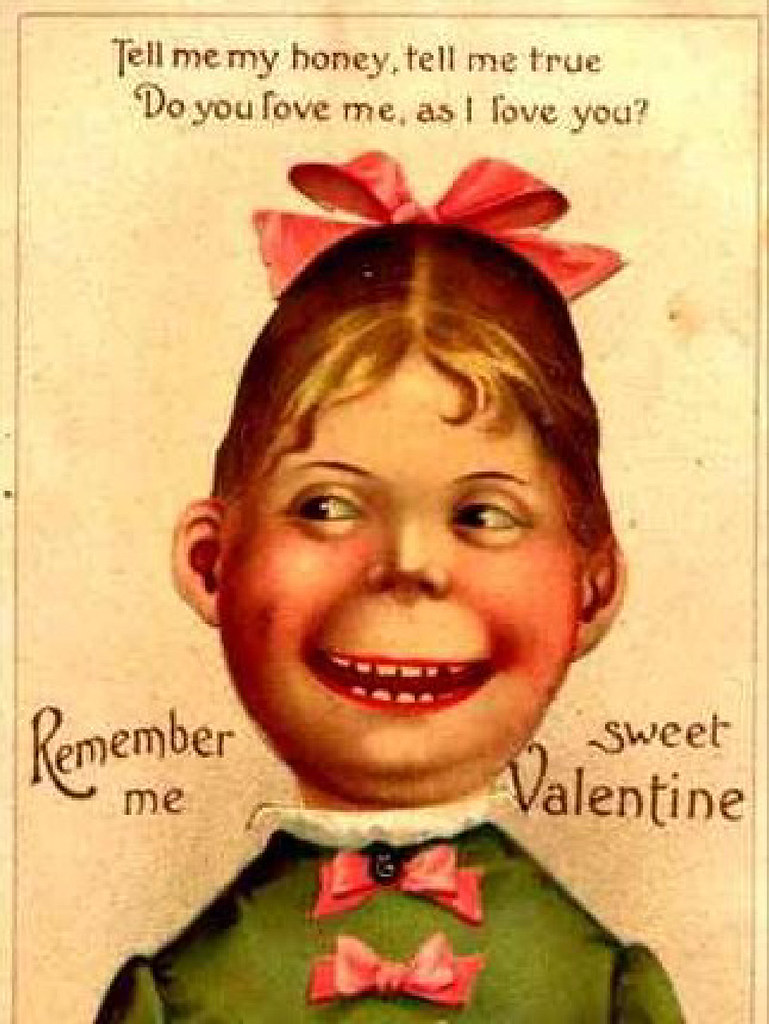 Old Fashioned Movie Valentine