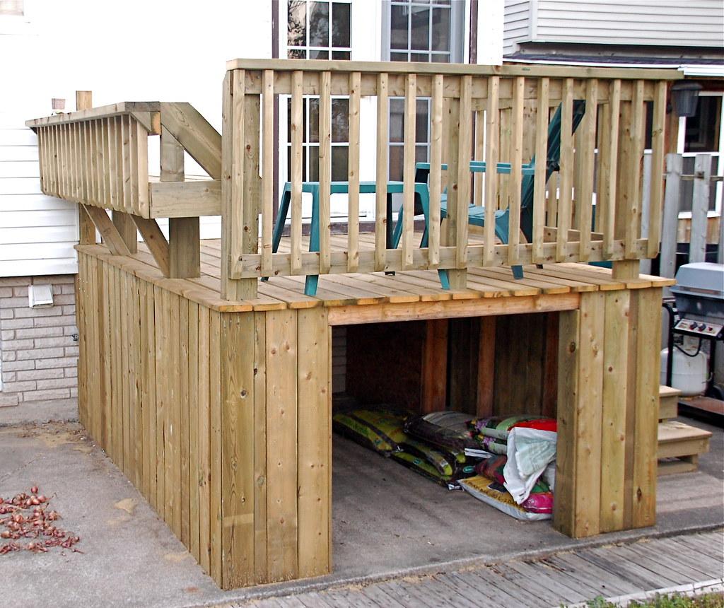 Under Deck Storage For Gardening Supplies Harriet Lehnen