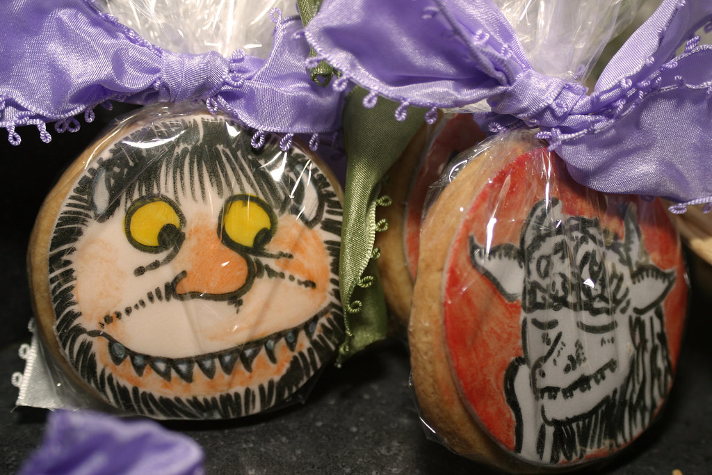 Custom-made Wild Things cookies by The Night Kitchen Baker… | Flickr