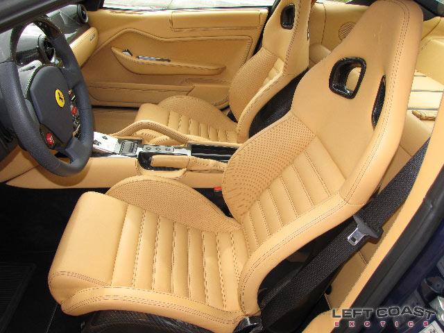 Ferrari leather interior
