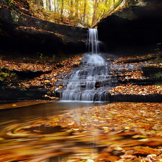 The Secret Falls of Sewanee. | by BamaWester