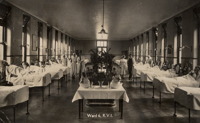 Victorian Public Hospital Bed Numbers : Ward royal victoria infirmary newcastle upon tyne