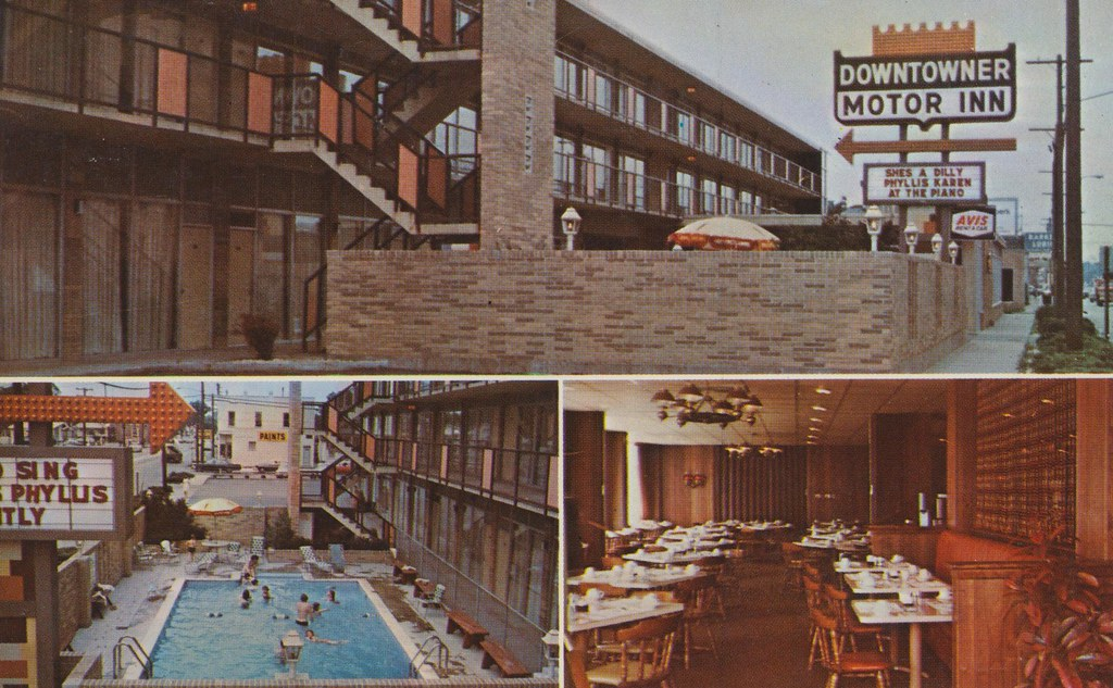 Downtowner Motor Inn - Springfield, Illinois