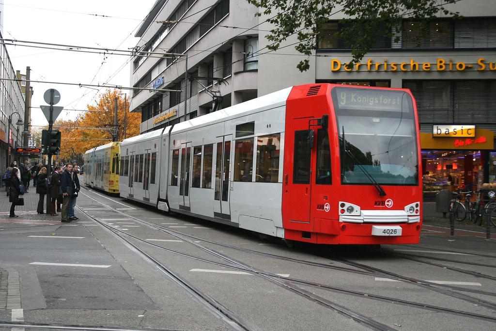 kvb 4026 k ln cologne tram 27 10 09 z lpicher platz flickr. Black Bedroom Furniture Sets. Home Design Ideas