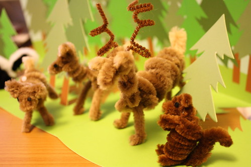 Pipe Cleaner Woodland Forest For My Housewarming Ginga