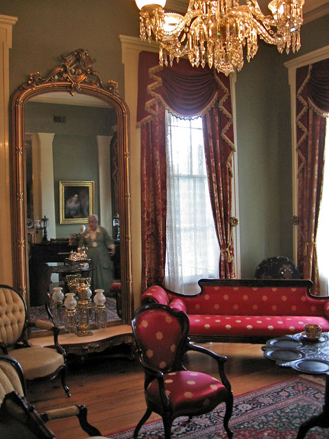 Parlor At Oakleigh Mansion Mobile Alabama Paul Mcclure