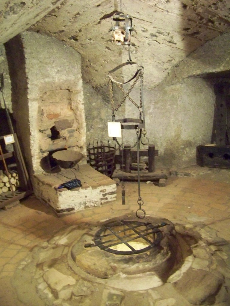 Daliborka Tower Dungeon Dungeon In Prague Castle Once