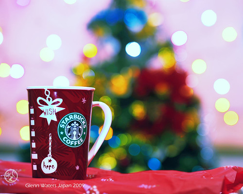 A Merry Starbucks Coffee Christmas my friends. © Glenn E Waters. Japan. Over 136,000 visits to this image. | by Glenn Waters ぐれんin Japan.