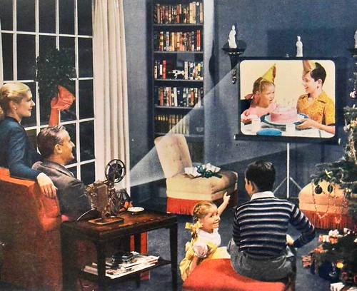 1950s Vintage Advertisement Revere Movie Projectors 8mm Ca