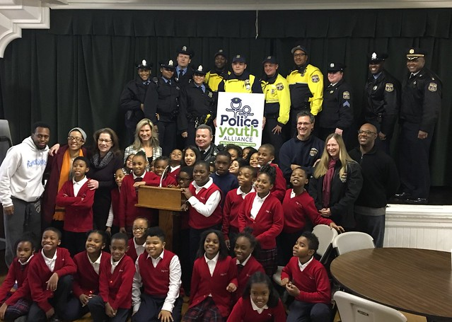 Police Youth Alliance- Holy Cross Reading Program