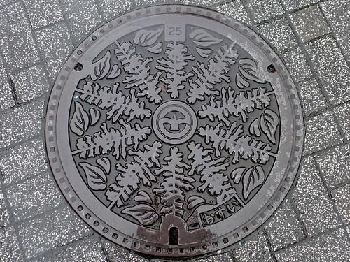 Machida Tokyo, manhole cover (東京都町田市のマンホール)