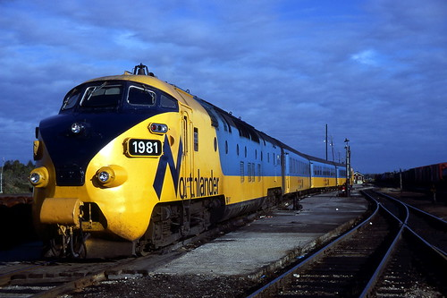 Ontario Northland Railroad, North Bay, Ontario | by R R Horne