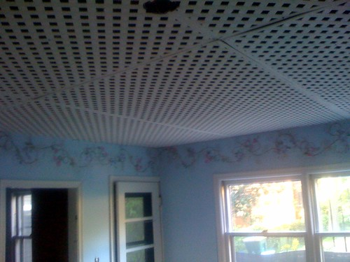 Lattice Ceiling Also Known As The World S Worst Design De