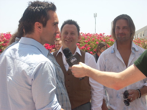 Nestor Carbonell, Jorge Garcia, Michael Emerson, Josh Holloway | by watchwithkristin