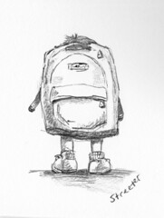 Backpack | by betsystreeter