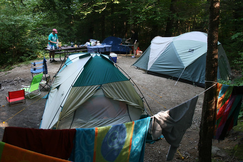Russell Pond Campground Near Franconia Notch State Park
