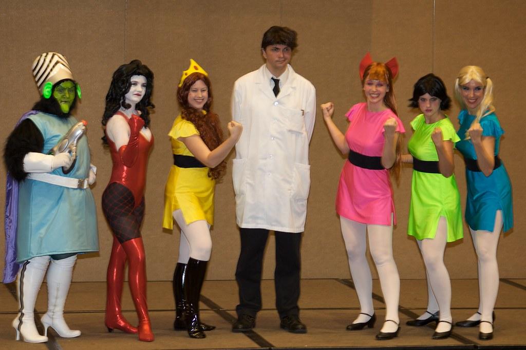 The Powerpuff Girls At Dragoncon  Mojo Jojo, Sedusa -3362