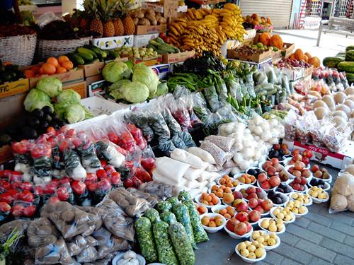 mercado al aire libre cuautemoc mercado de frutas y