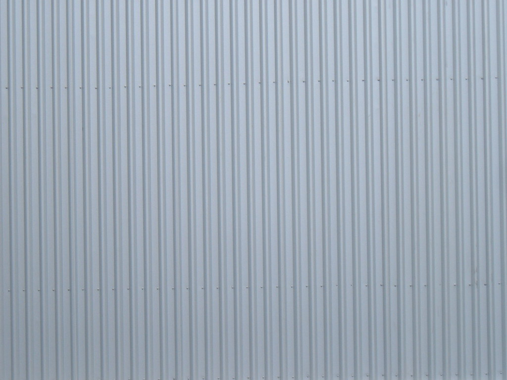 Pressed Steel Corrugated Wall I Have Taken These Photos