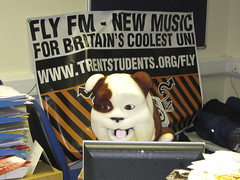 Churchill at Fly FM 2 | by thechurchilldog