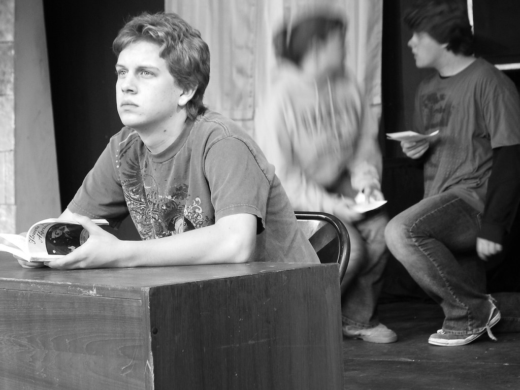 Flowers For Algernon Rehearsal Flashback scene Charlie an…