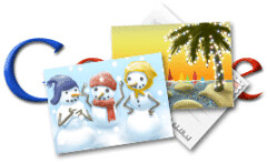 Google Holiday Logo #2 2009 | by rustybrick