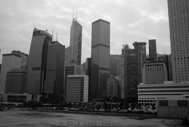 Central skyline from the Star Ferry