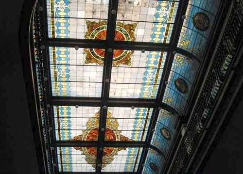 Slocum Hall's Stained Glass Ceiling | by USEG Tours