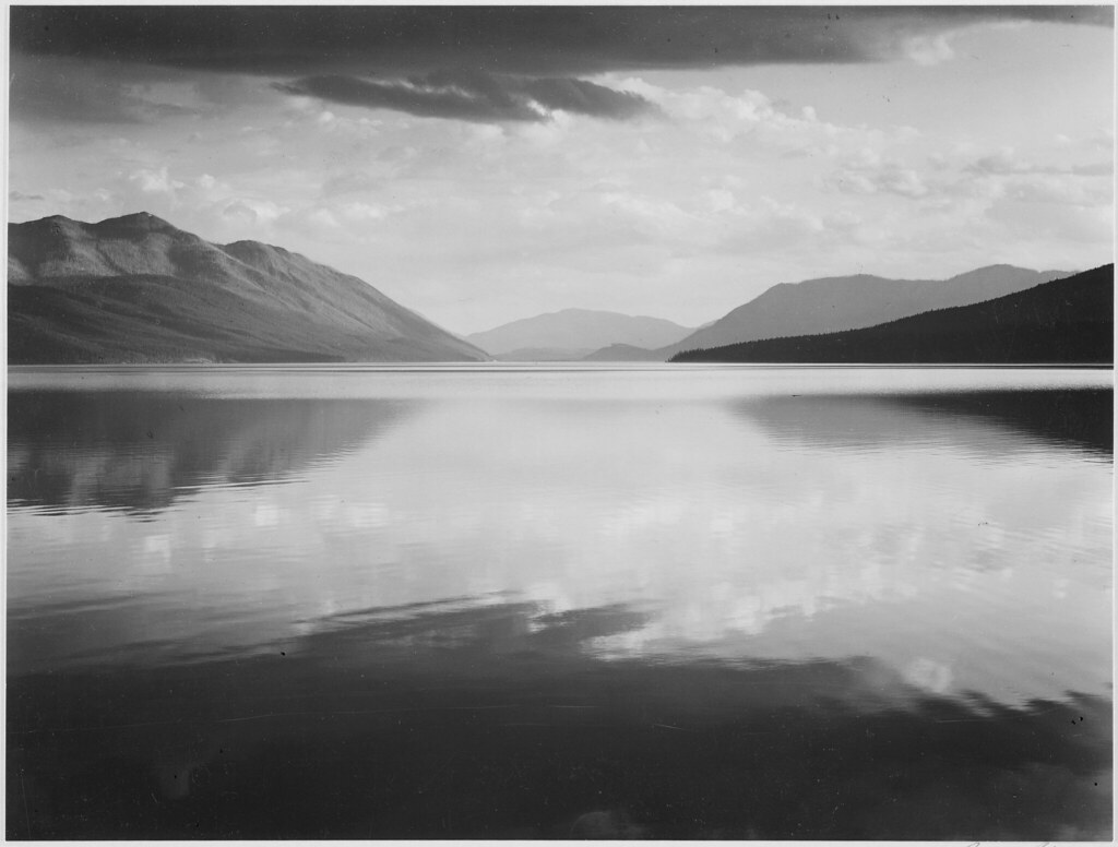 Evening mcdonald lake glacier national park original cap flickr mcdonald lake glacier national park by the us national archives publicscrutiny Image collections