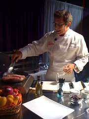 Rick bayless at blogher | by citymama